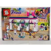 Конструктор для девочек Friends 304+ ДЕТ