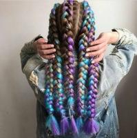 Канекалон 2 Braids косы 2 цвета