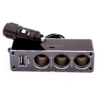 Автомобильный разветвитель с USB разъемом
