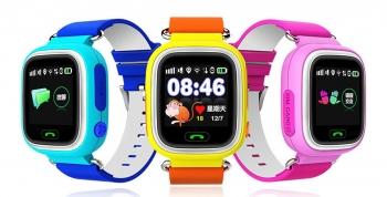 Детские часы с GPS трекером Smart Baby Watch Q80 - Q90