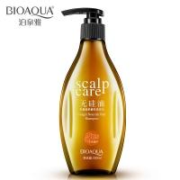Шампунь для волос с имбирем без силикона Bioaqua Scalp Care.