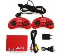 """Sega - Dendy """"Hamy 4"""" 350in1 Angry Birds Red"""