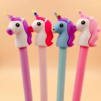 Ручки с единорогами, фламингами