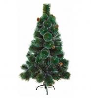 Искусственная ёлка с напылением зелёная 240 см