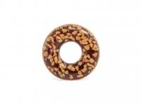 """Надувной круг """"Пончик шоколадный""""114 см"""