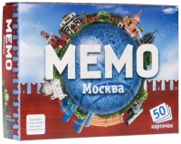 Мемо карточки - Москва