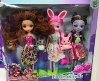 Набор кукол Инчантималс Enchantimals 4 в 1