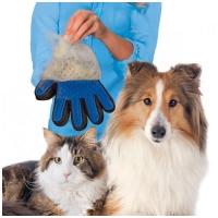 Перчатки true touch для вычесывания питомцев